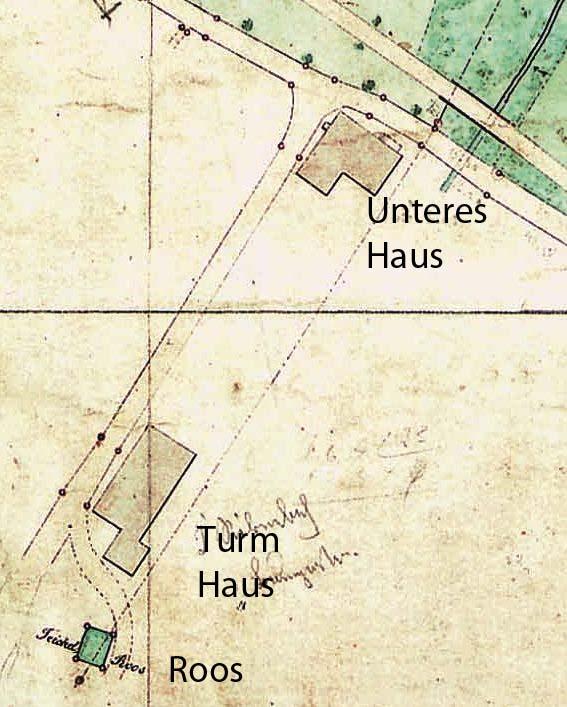 Ausschnitt einer alten Karte